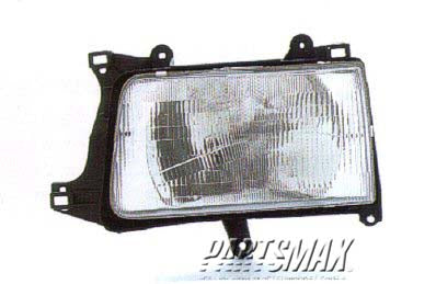 001150 | LT Headlamp assy composite; all for a 1993-1998: TOYOTA, T100