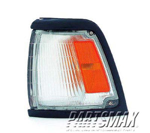 001275 | LT Parklamp assy; 2WD; std; prime for a 1992-1995: TOYOTA, PICKUP