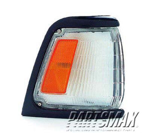 001276 | RT Parklamp assy; 2WD; std; black for a 1989-1991: TOYOTA, PICKUP