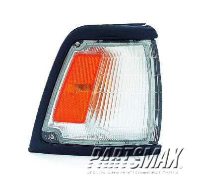 001276 | RT Parklamp assy; 2WD; std; prime for a 1992-1995: TOYOTA, PICKUP