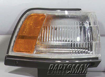 001390 | RT Front marker lamp assy; from 10/86 for a 1987-1991: TOYOTA, CAMRY