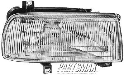 001160 | RT Headlamp assy composite; all for a 1993-1998: VOLKSWAGEN, JETTA