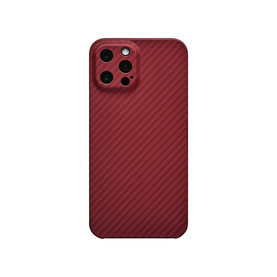Apple iPhone 12 Pro Max Latercase - Limited Edition Crimson Thin Kevlar Case