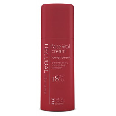 Decubal face vital andlitskrem 50 ml.