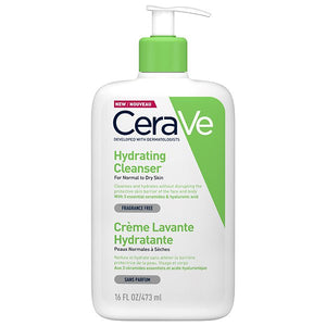 CeraVe – Hydrating Cleanser 473 ml