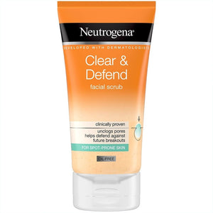 Neutrogena Clear&Defend skrúbbur 150ml