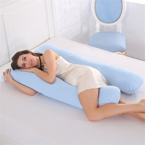 Comfortable U-Shape Pregnancy Pillow - Thumb Slider