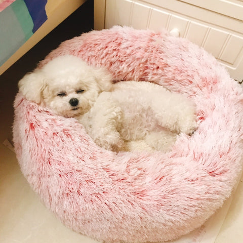 Comfortable Round Pet Bed - Thumb Slider
