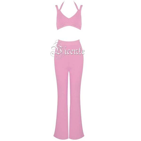 Party Bandage Pant Suit - Thumb Slider