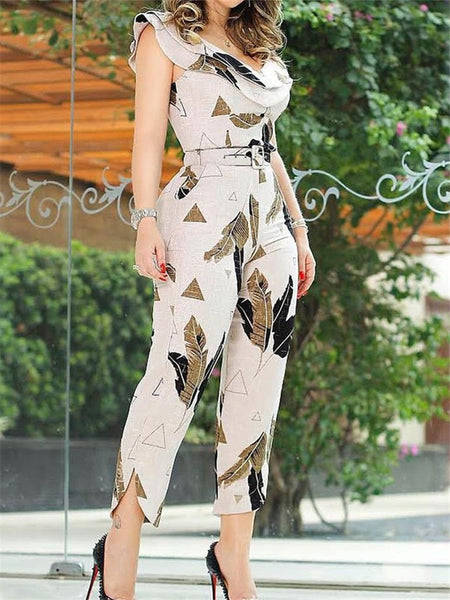 Summer Split Leg Jumpsuit - Thumb Slider