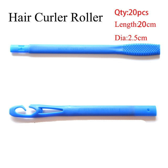 Magic Hair Curlers with Sticker - Thumb Slider