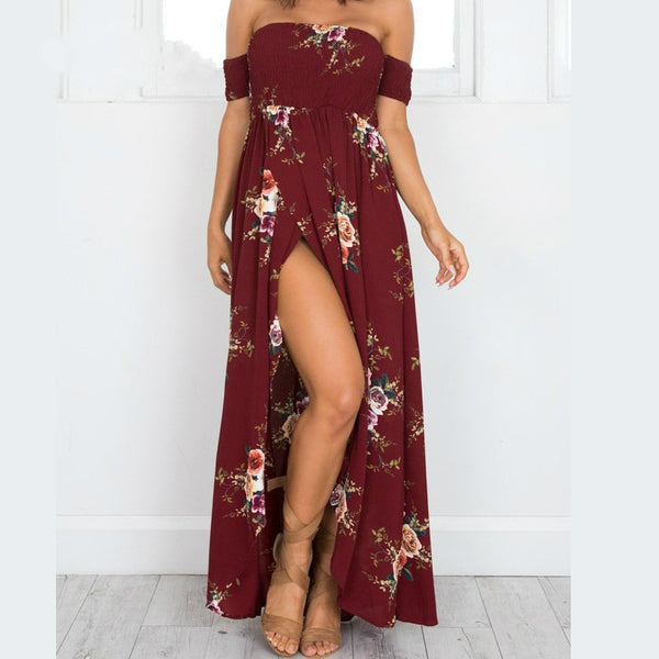 Backless Boho Long Dresses - Thumb Slider