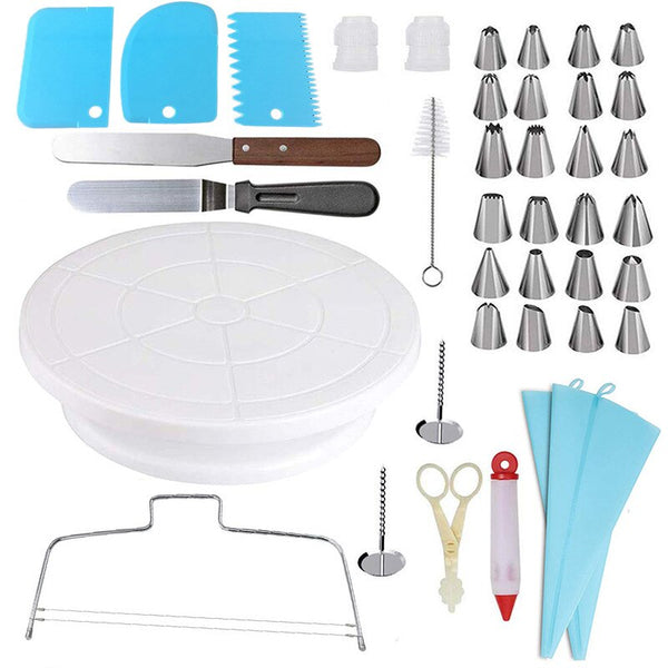 Pastry Bag Nozzle Set Cake Decorating Tools - Thumb Slider