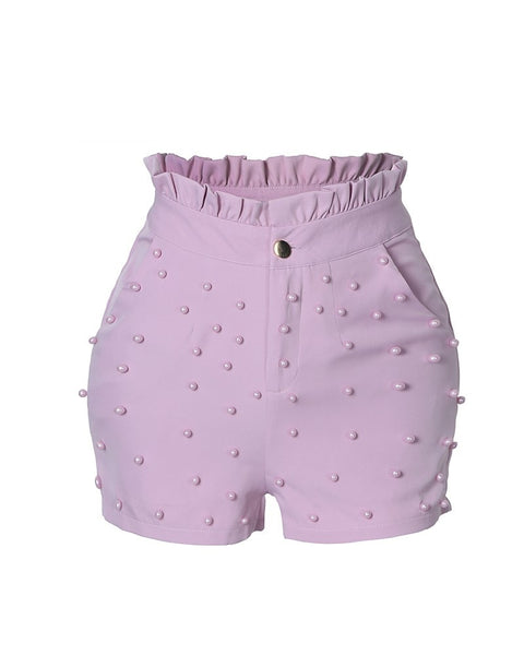 Summer High Waist Shorts For Women - Thumb Slider