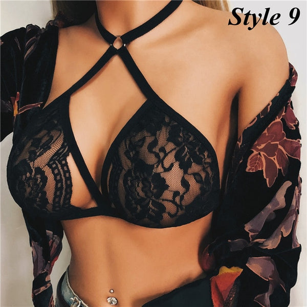 Hollow Sexy Lace Bra Lingerie - Thumb Slider