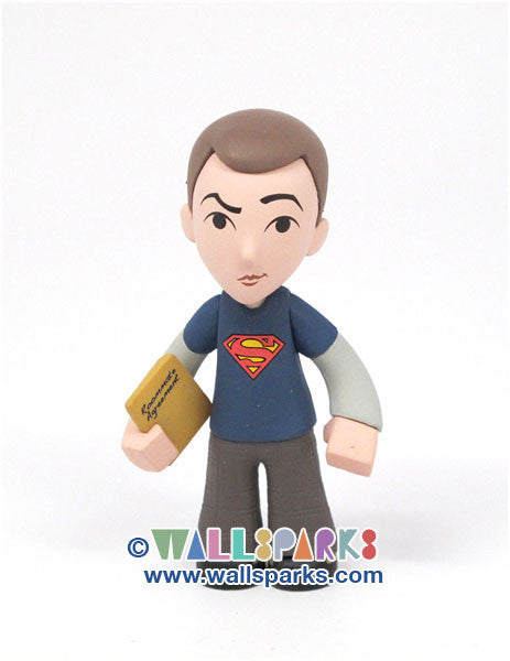 The Big Bang Theory - Sheldon wearing Superman Mini Vinyl Figure - Kidrobot Designer Toy