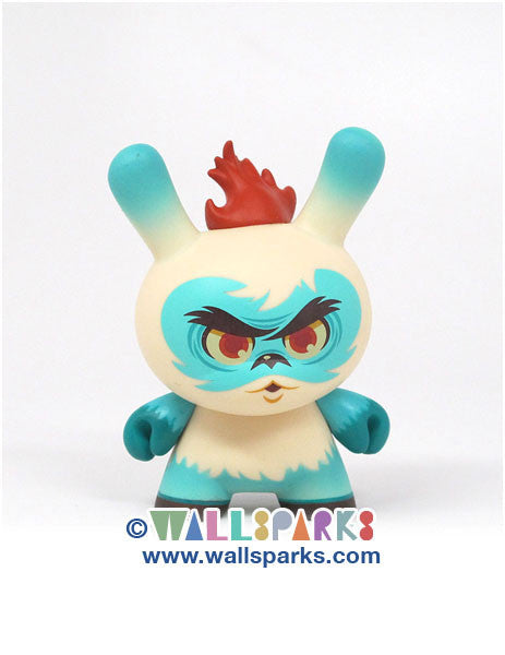 Dunny 2013 Sideshow Series Scott Tolleson Argyle Warrior Vinyl Figure Kidrobot Designer Toy