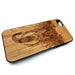 Elephant boho design15 iPhone Case Carved Engraved design on Real Natural Wood - For iPhone 7/8, 6/6s, 6/6s Plus, SE, 5/5s, 5C, 4/4s