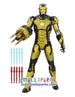 Marvel Iron Man 3 Sonic Blasting 12-Inch Figure with Glow In The Dark Armor