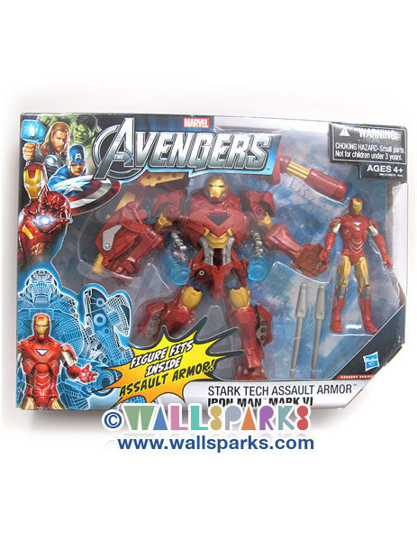 Marvel The Avengers Concept Series Stark Tech Assault Armor Iron Man Mark VI Figure