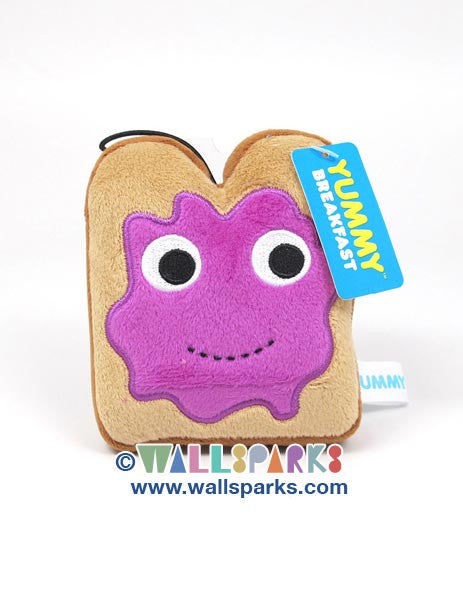 YUMMY Breakfast Kidrobot Small 4-inch Plush Toast