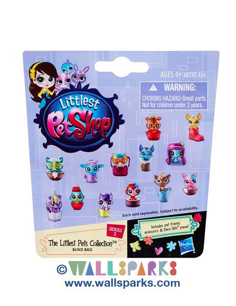 Littlest Pet Shop LPS Mystery Pets Blind Bag - The LITTLEST Pets Collection - Cute Little Pets with Accessories 2014 wave 2