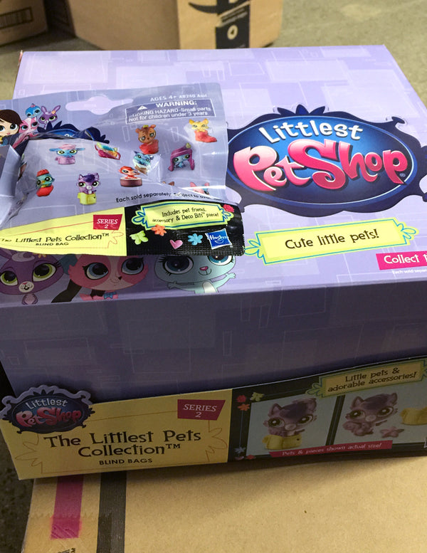 Littlest Pet Shop LPS Blind Bags Surprise Mystery Pets - Little Pets Series 2 - Complete Full Box