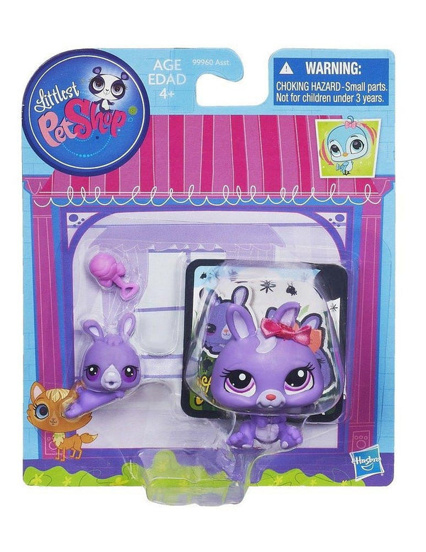 Littlest Pet Shop Figures Bunny & Baby Bunny