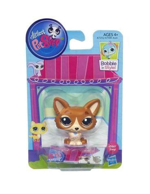 Littlest Pet Shop Corgi Pet Dog #3567