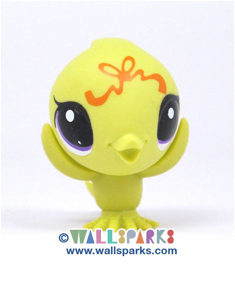 Littlest Pet Shop Party Stylin' Pets Chartreuse Chick #3553