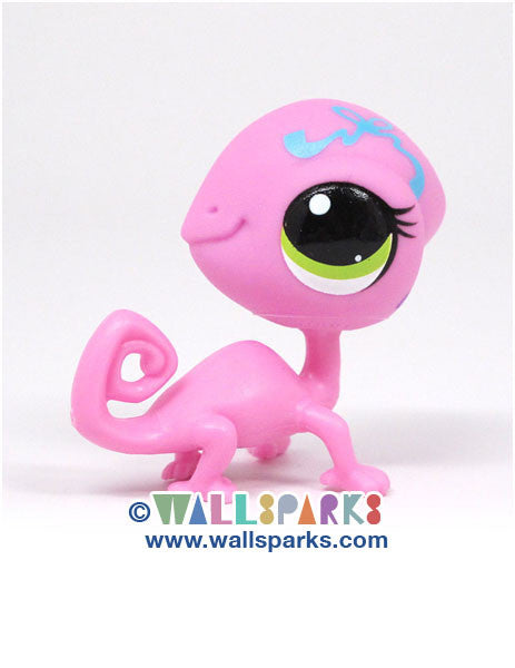 Littlest Pet Shop Party Stylin' Pets Lilac Lizard Gecko #3548