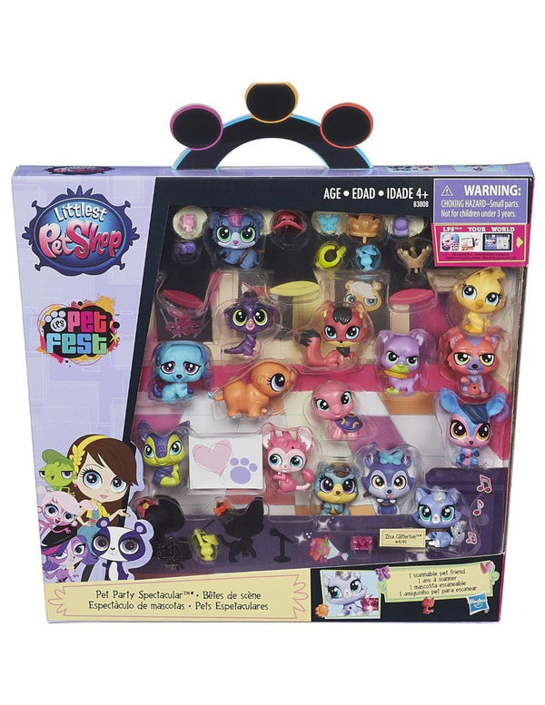 Littlest Pet Shop Pet Party Spectacular - 15 Small Pets