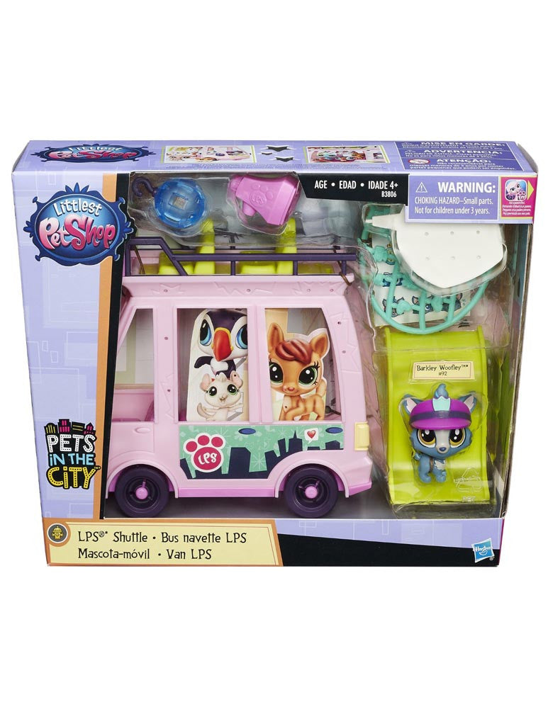 Littlest Pet Shop LPS Shuttle Bus - Pets in the City