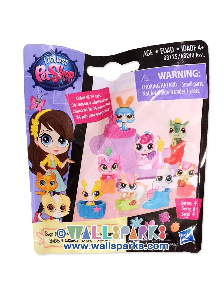Littlest Pet Shop LPS Mystery Pets Blind Bag Bags & Shoes - 1 Pet with accessory
