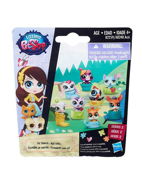 Littlest Pet Shop Mystery Pet Hideouts Blind Bags Series 2