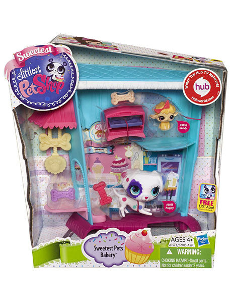 Littlest Pet Shop Sweetest Sweetest Pets Bakery Playset