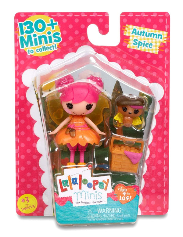 Lalaloopsy Mini Doll Autumn Spice