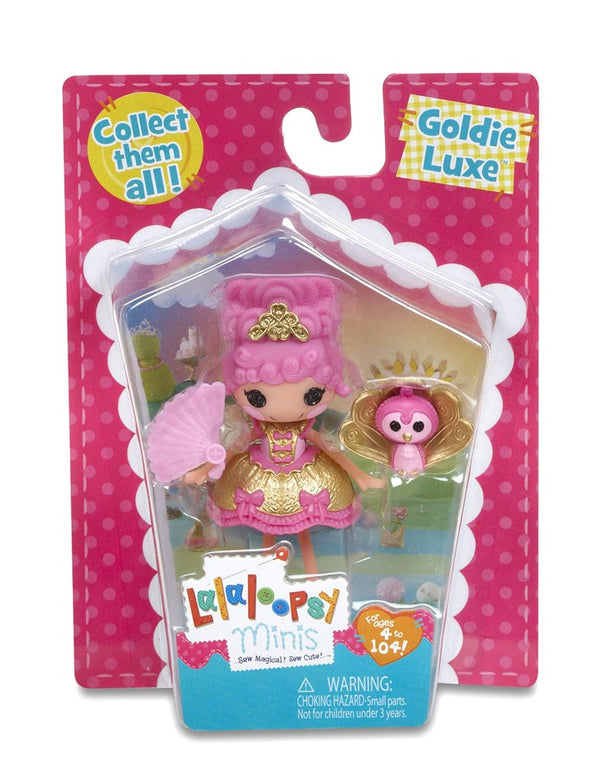 Lalaloopsy Mini Doll Goldie Luxe
