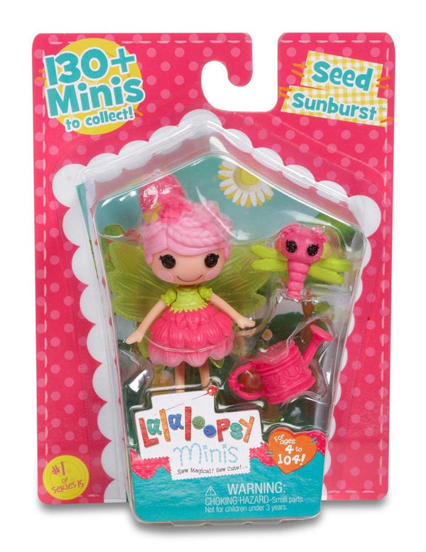 Lalaloopsy Mini Doll Seed Sunburst