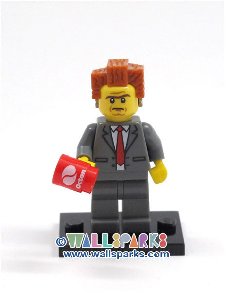 The LEGO Movie Mini figure President Business Lord Evil Lair