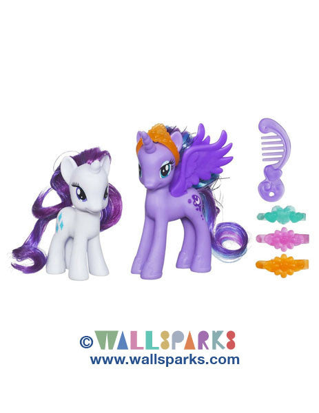 My Little Pony Princess Luna and Rarity Figures