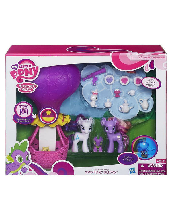 My Little Pony Friendship is Magic Twinkling Balloon Playset