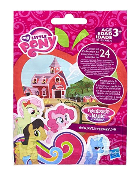 My Little Pony Surprise Blind Bag Mini Figure Wave 14 Friendship is Magic (partyly clear)