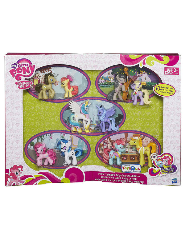My Little Pony - Exclusive Pony Friends Forever Collection - 10 Pack Set