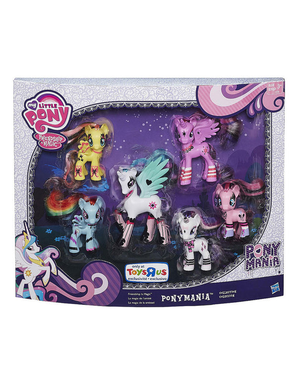 My Little Pony Friendship is Magic Ponymania Collection