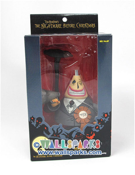 The Nightmare Before Christmas - Mayor - Mini Bust Up - Series 1 - JUN Planning