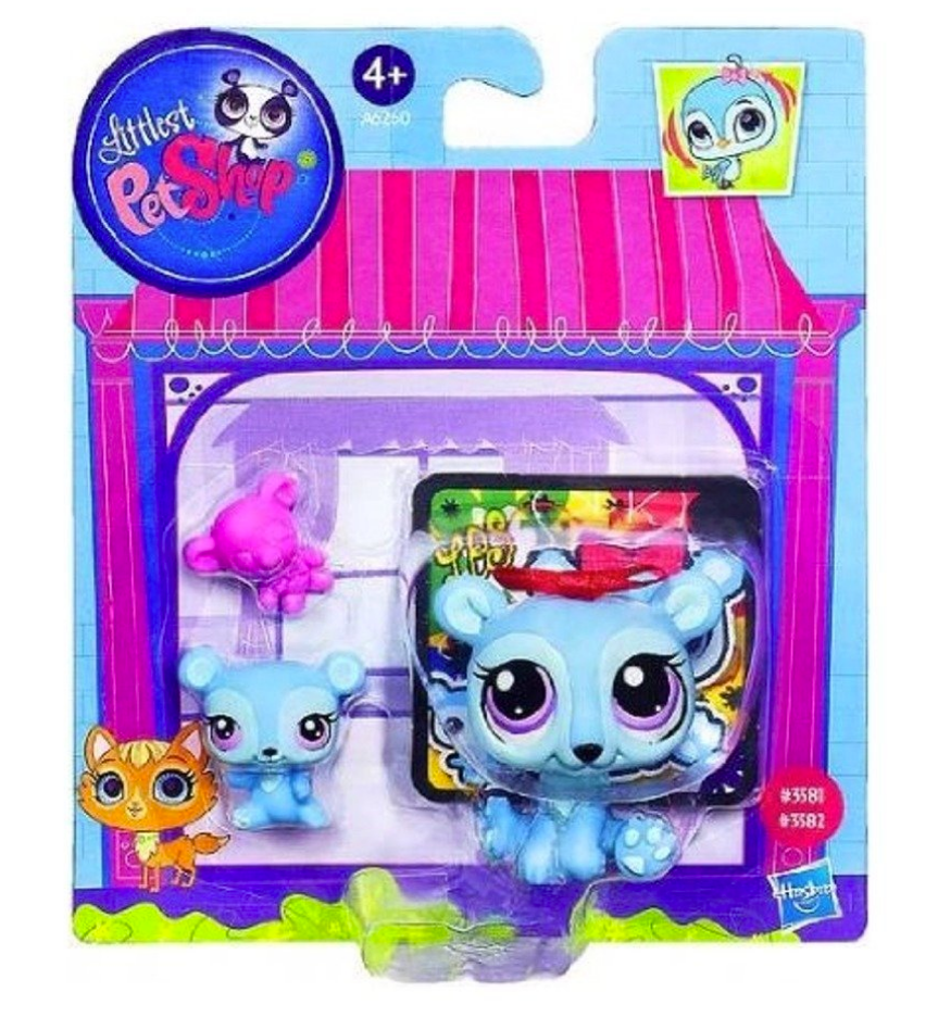 Littlest Pet Shop Figures Bear & Baby Bear