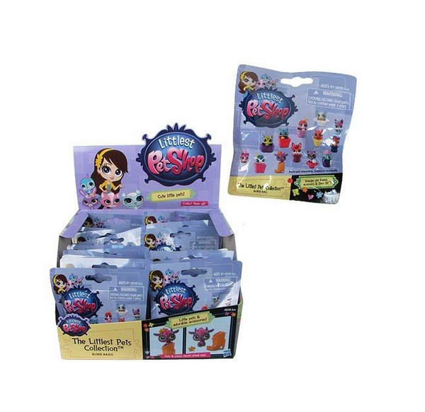 Littlest Pet Shop Blind Bag Tiny Surprise Pets Wave 1 Collection Box of 24