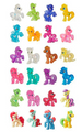 My Little Pony Wave 13 Friendship is Magic Sweet Apple Acres Collection Blind Bag Figures - Full Box of 24