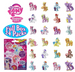 My Little Pony Cutie Mark Magic Collection Surprise Bag Mini Figures Full Box Blind Bags - 24 Pack
